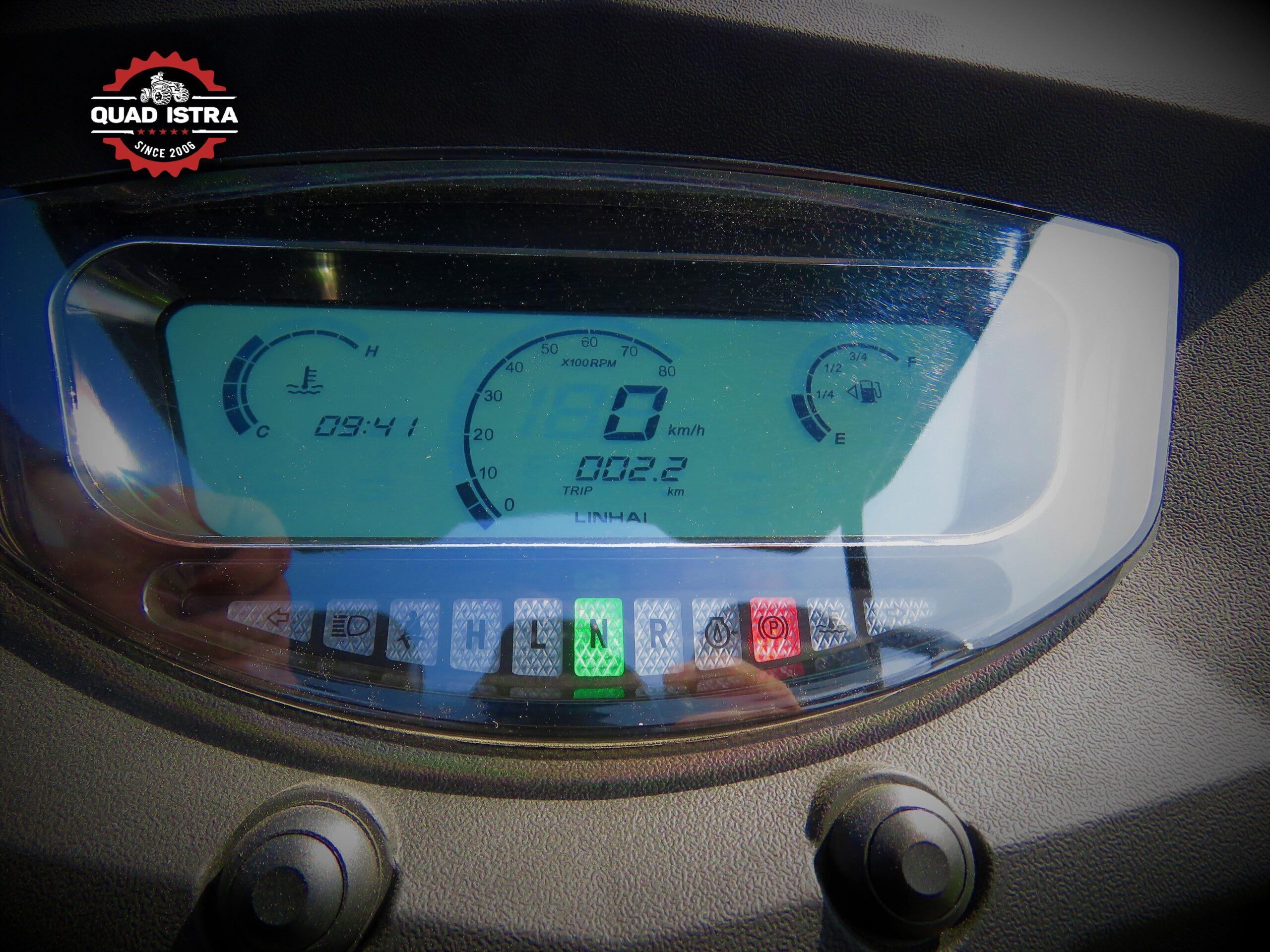 UTV-Linhai-kontrolna-ploča